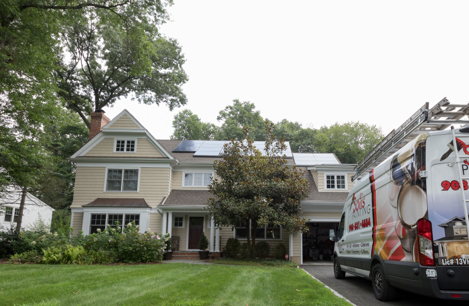 Exterior House Painting located in Madison, NJ 07092 (2019)