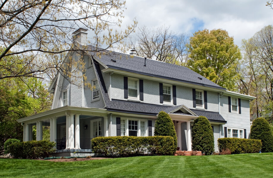 Exterior House Painting located in Springfield, NJ 07081 (2019)